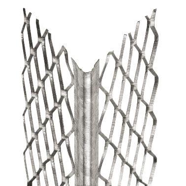 Eckschutzschienen verzinkt Netzgeflecht in verschiedenen Längen