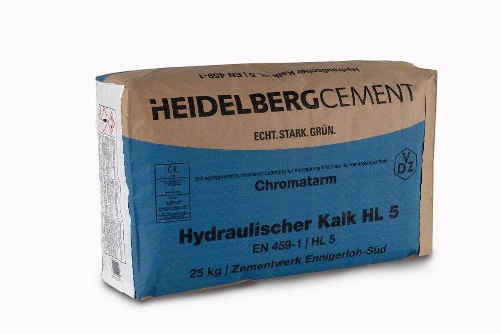 Hydraulischer Kalk HL 5 25Kg