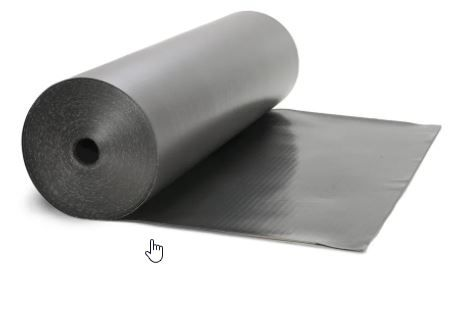 BTF Procell F+M Kunstst. Mauersperrbahn Bitumenverträglich 24,0 cm x 50 mtr.