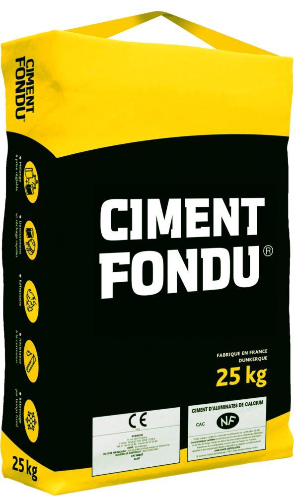 Tonerdeschmelzzement Ciment Fondu 25 Kg