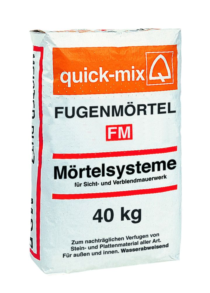 Fugenmörtel FM-Z20 zementgrau 40Kg