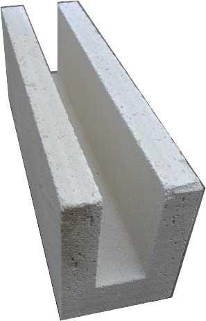 Hansa Porenbeton U - Schale 36,5 cm **Neues Maß**    599 x 365 x 249 mm