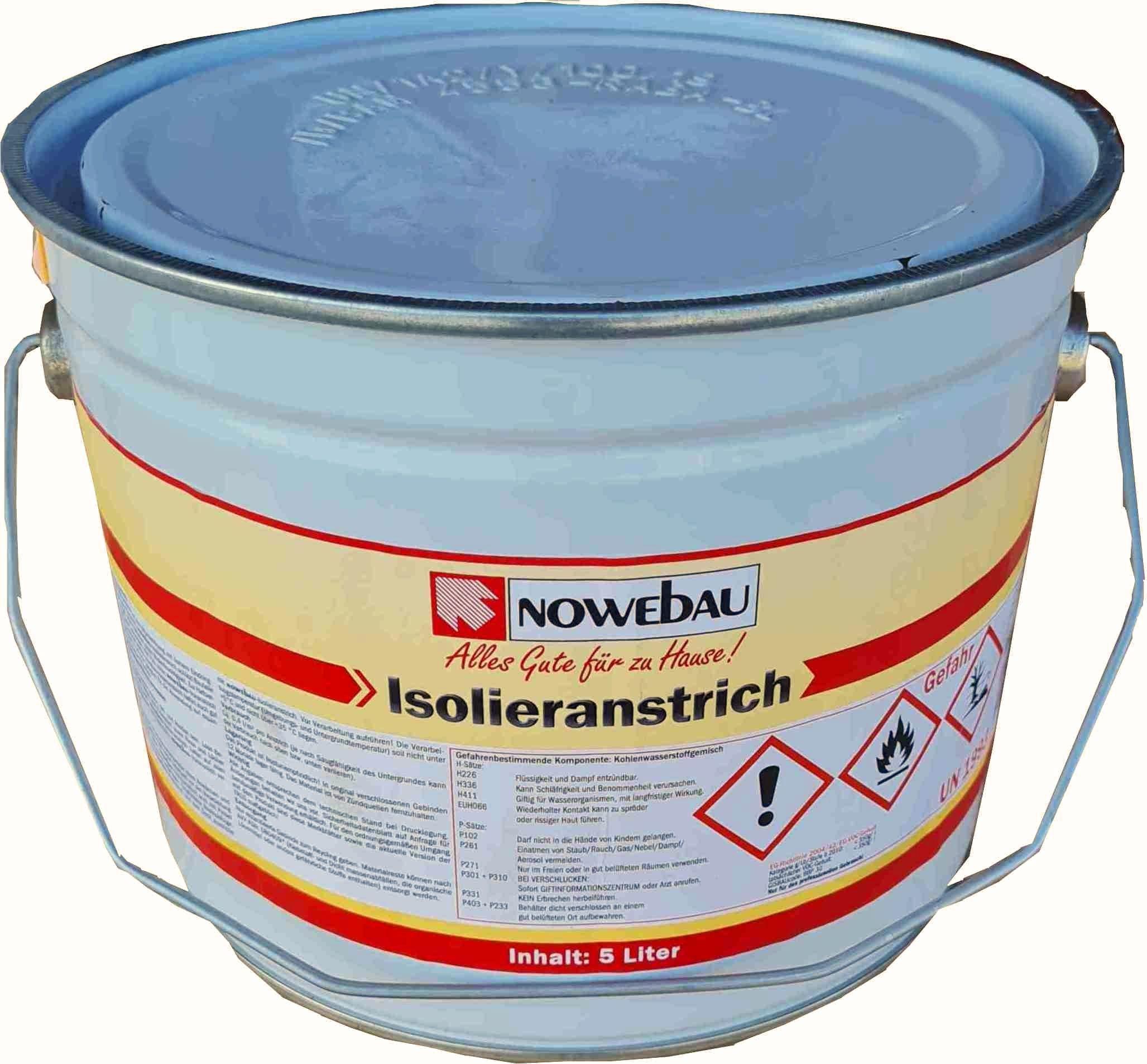 Nowebau Bitumen Isolieranstrich(Schwarzanstrich) in verschiedenen Gebindegrößen