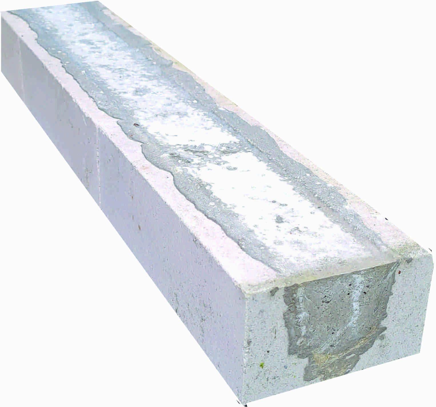 Kalksandsteinstürze NF 7,1 x 11,5 cm in verschiedenen Längen