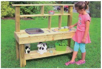 Outdoor  Spielküche  120 x 103 x 40 cm    L1003