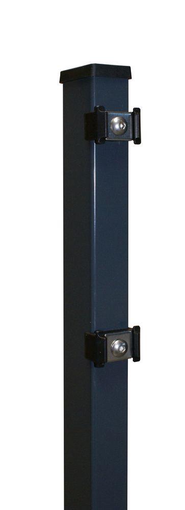 Rechteckpfosten 60x40x2000 mm verzinkt anthrazit