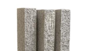 Granitpalisaden 12 x 12 x 30 cm grau