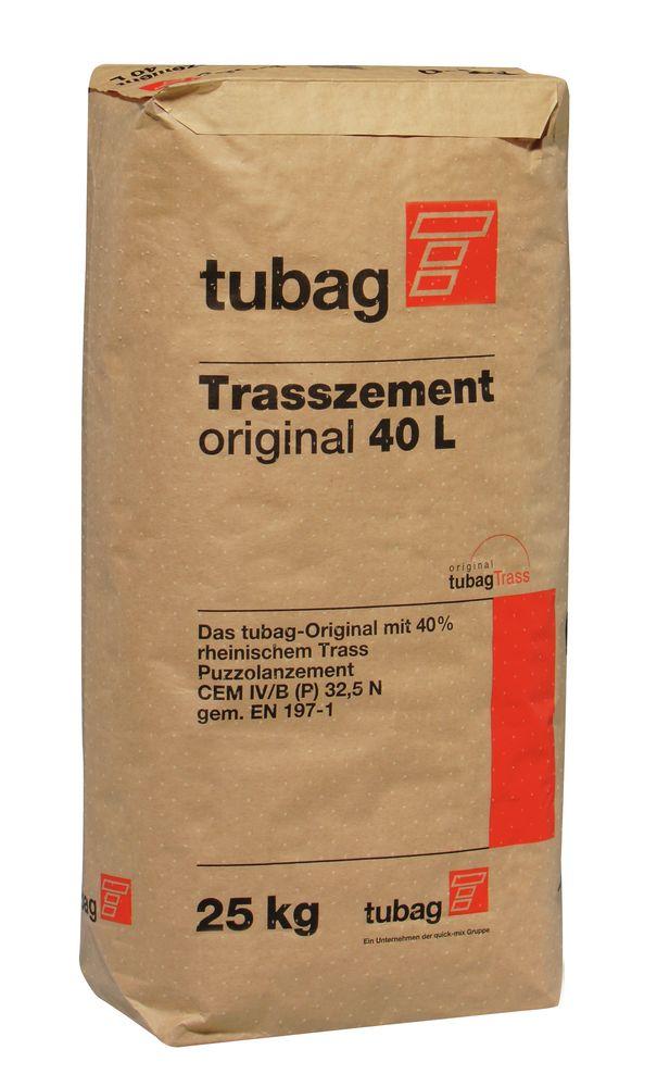 tubag Trasszement original TZ-o 40l 25 Kg