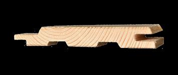 Profilholz Fi/Ta A 12,5 X 96 mm in verschiedenen Längen