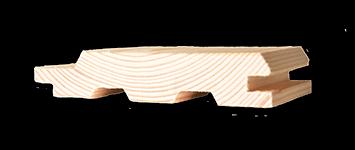 Profilholz  Fi/Ta   A  18,5 x  96 mm 4,20 m