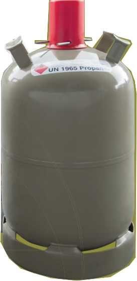 Campinggasflasche (grau) 11 kg