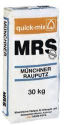 Q-M MRS Münchner Rauputz 30kg weiß Körnung: 0-3mm