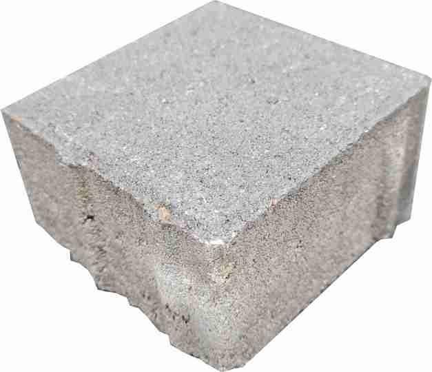 Beton Rechtecksteine naturgrau 8 cm Halbe