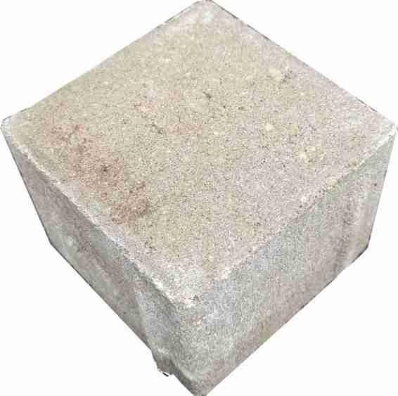 Beton Rechtecksteine naturgrau 6 cm Halbe