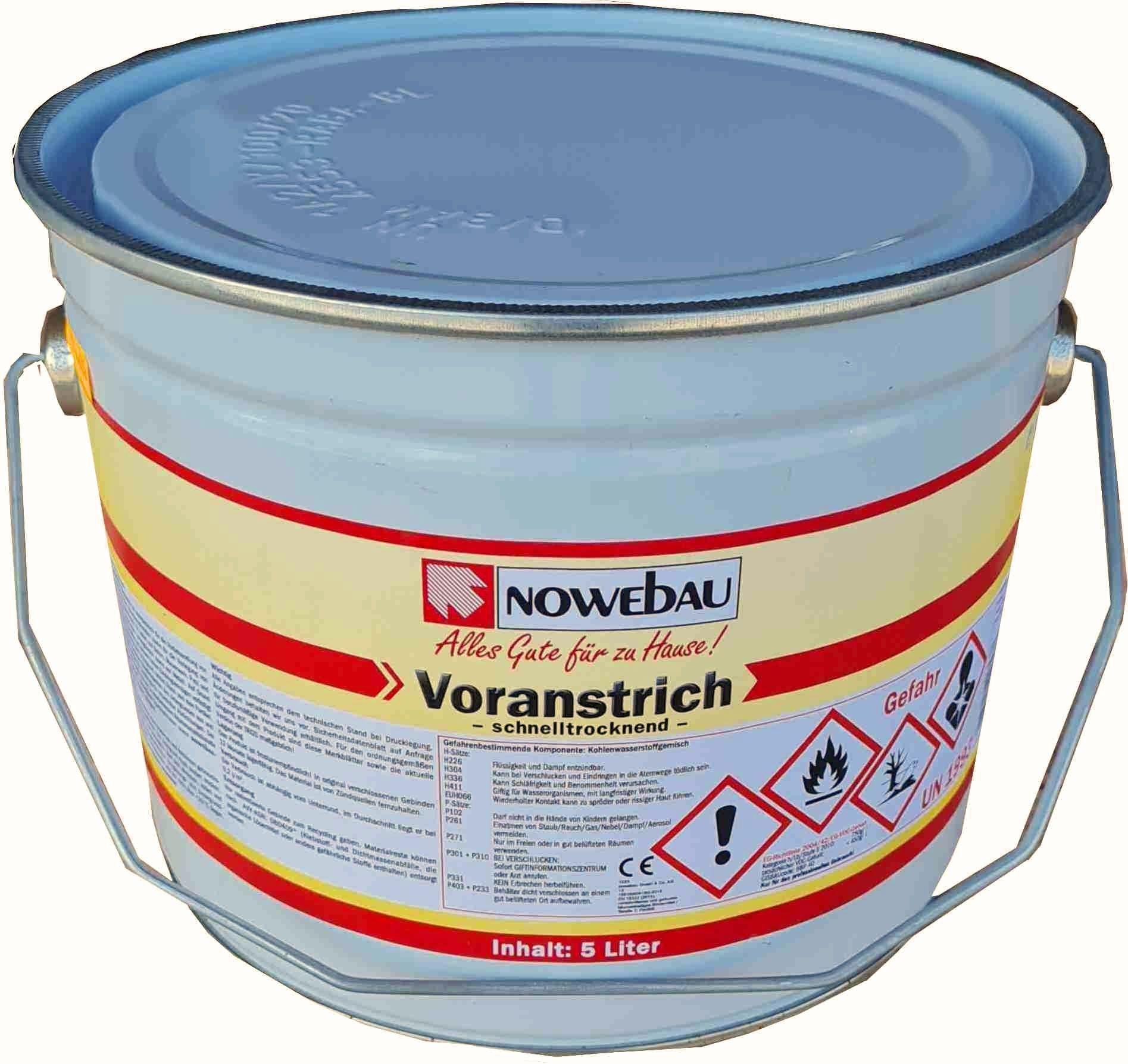 Nowebau Bitumen Voranstrich in verschiedenen Gebindegrößen