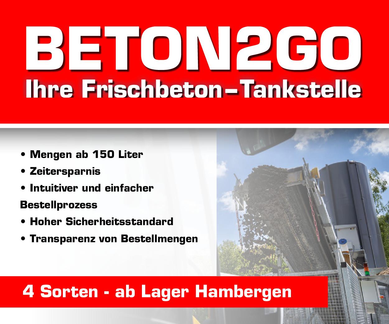 Betontankstelle in Hambergen