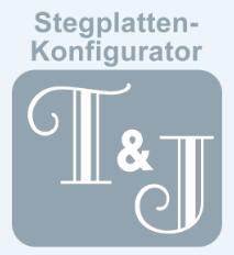 Online Stegplattenkonfigurator