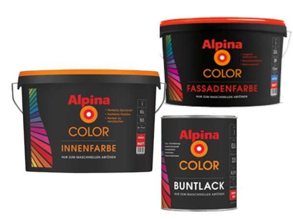 Alpina Farbe anmischen
