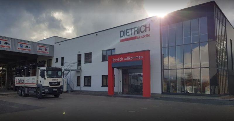 Anlieferung und Versand bei Dietrich Baustoffe