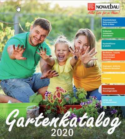 Nowebau Gartenkatalog 2020